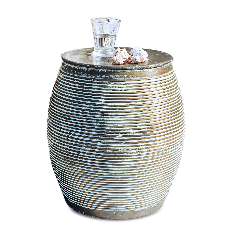 LOBERON Beistelltisch Caqueret, antikkupfer (46cm)