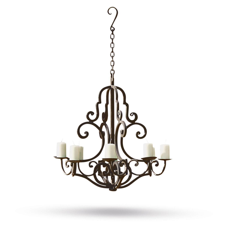 LOBERON Kerzenleuchter Geneuve, schwarz (68cm)