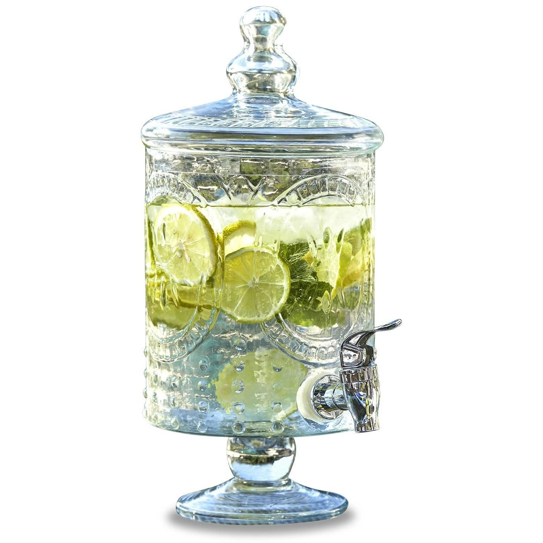 "*NEU*: Getränkespender ""Lys"" aus Glas, transparent"