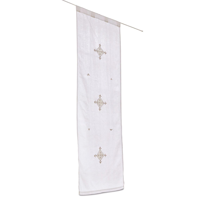 LOBERON Gardine Ceber, weiß (60 x 180cm)