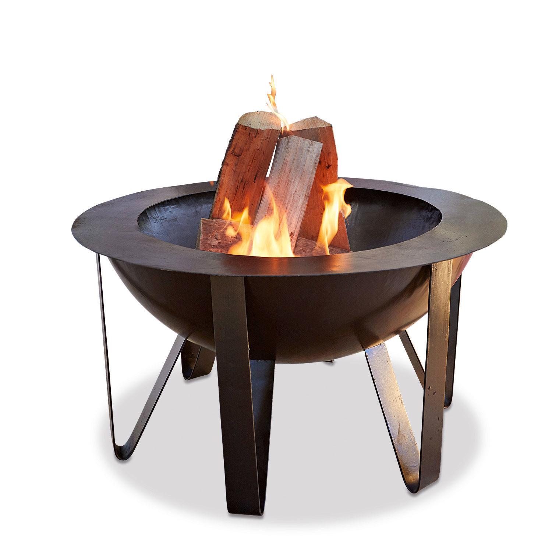 "Feuerschale ""Lava"" aus Metall, schwarz (Kopie)"