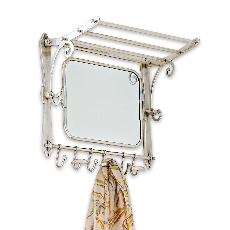 Image of LOBERON Garderobe Ernestine, silber (30 x 50 x 48cm)