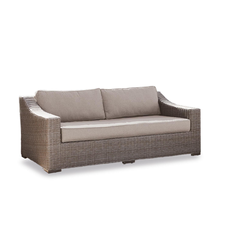 LOBERON Sofa Chestingdale, braun (105 x 200 x 75cm)