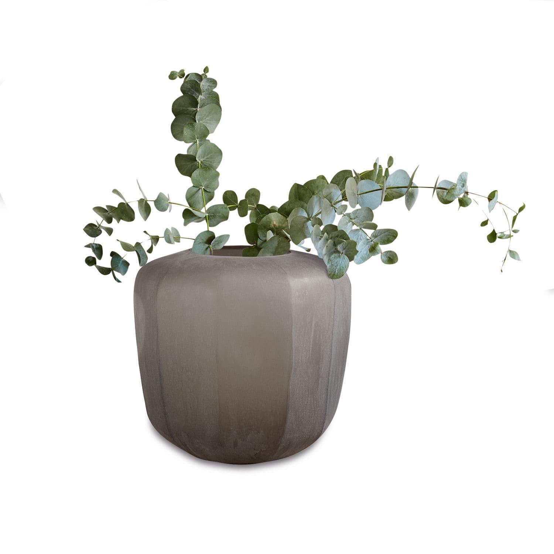 LOBERON Vase Tarn, grau (32.5cm)