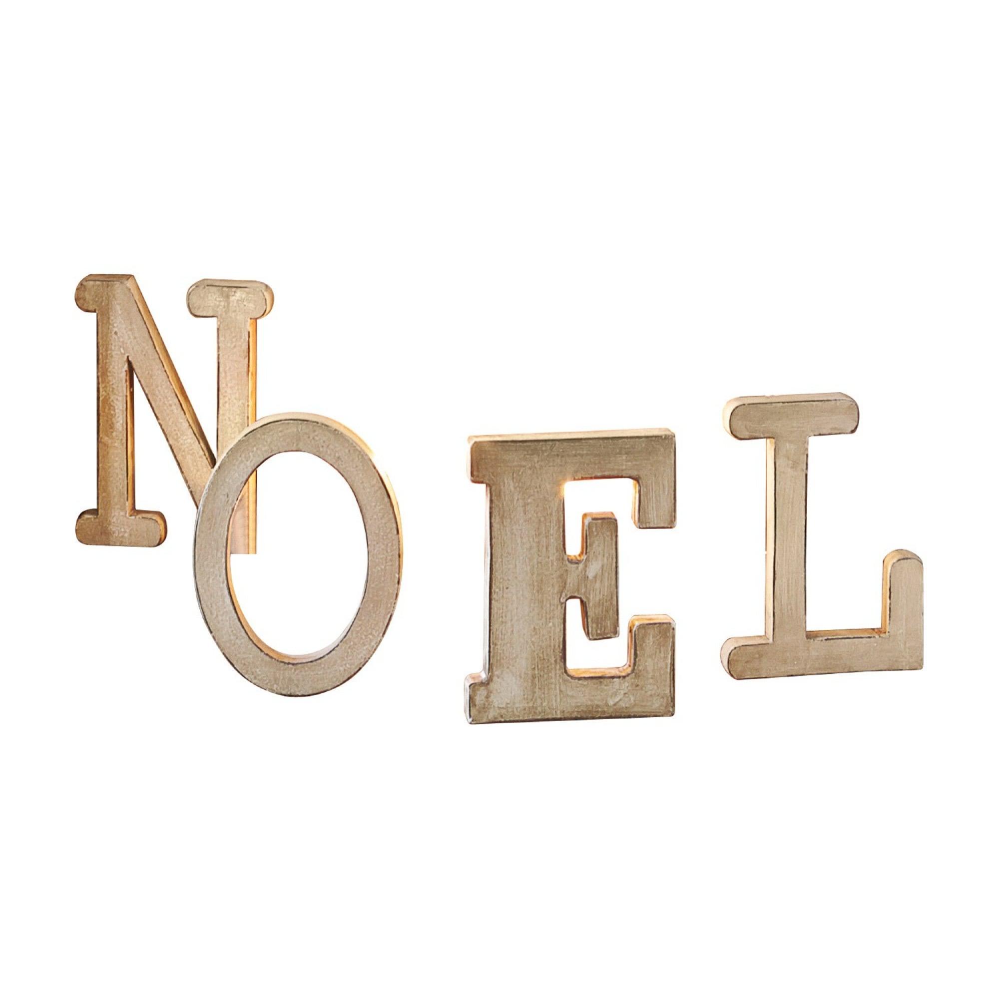 Buchstaben noel letters loberon coming home for Weihnachtsdeko buchstaben