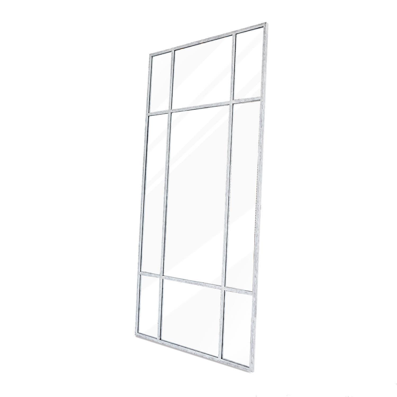 LOBERON Spiegel Scrott, antikweiß/klar (3 x 110 x 220cm)