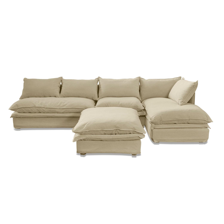 LOBERON Sofa Curdis, beige