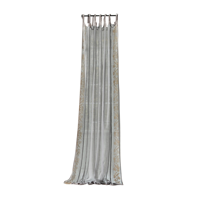 LOBERON Gardine Béziers, graublau (140 x 250cm)
