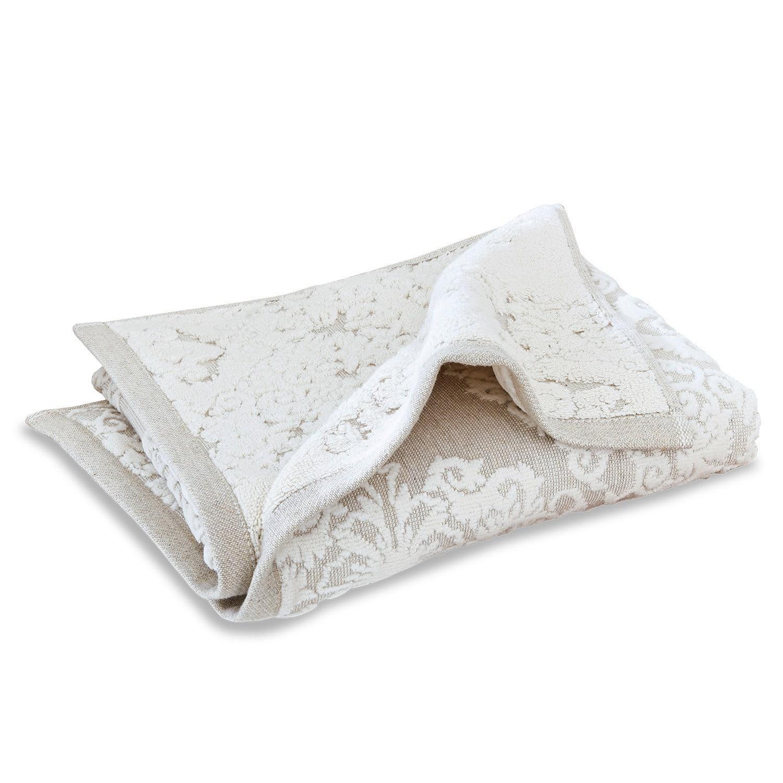 LOBERON Handtuch Dhalia, beige (50 x 100cm)