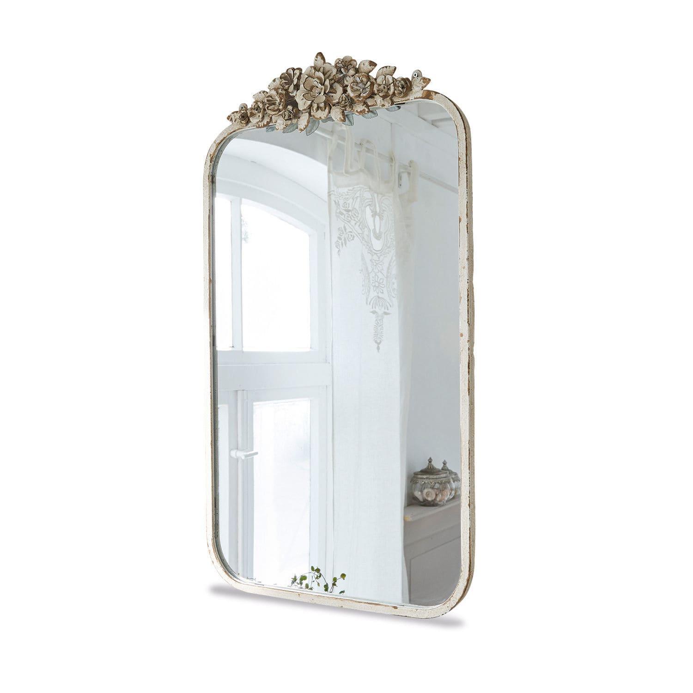 LOBERON Spiegel Veilleures, antikcreme (3.5 x 45 x 81cm)