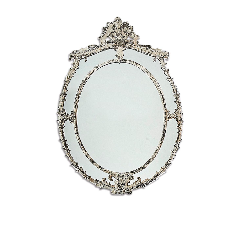 LOBERON Spiegel Tamar, antikweiß (3 x 58.5 x 85.5cm)