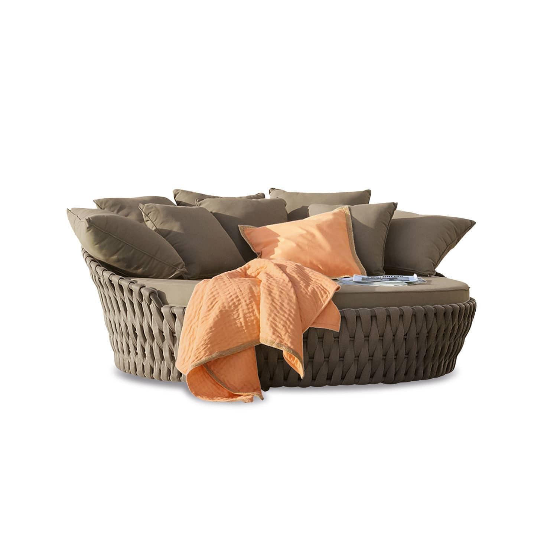 """*NEU*: Lounge-Sofa """"Torcy"""" aus Polypropylen, taupe"""