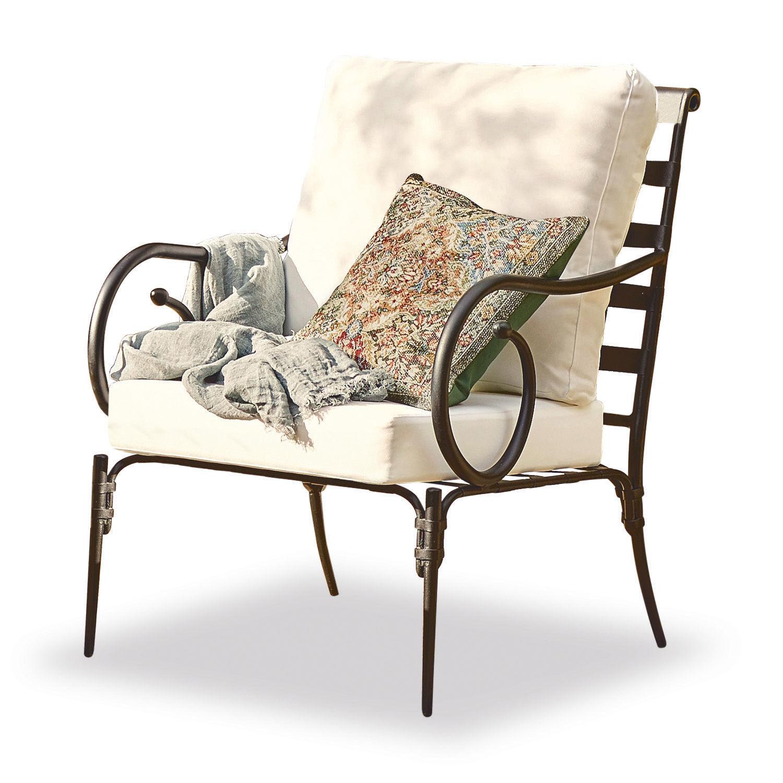 LOBERON Sessel Neret, schwarz/weiß (63.5 x 71 x 90cm)