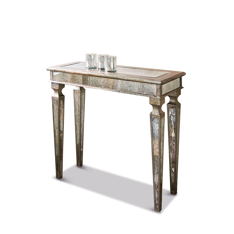 LOBERON Konsole Ergny| antiksilber (37 x 83 x 93cm) | Wohnzimmer > Tische > Konsolentische | LOBERON