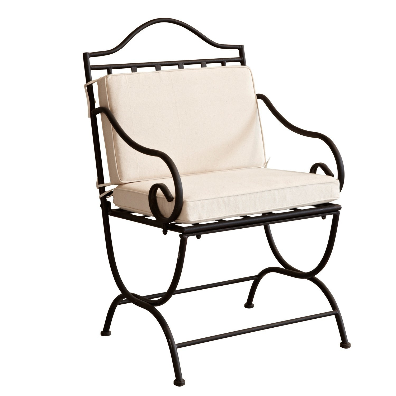 LOBERON Stuhl Avanton, schwarz (62 x 61.5 x 96.5cm)