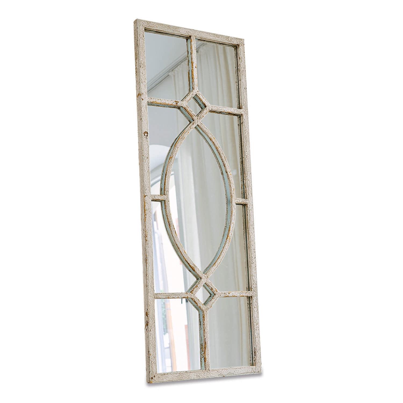 LOBERON Spiegel Millery, antikweiß (2 x 33 x 90cm)