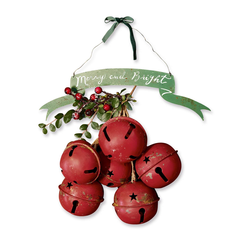 LOBERON Weihnachtsdeko 2er Set Tesson| rot/grün (32 x 9cm) | Weihnachten > Weihnachtsdeko | LOBERON