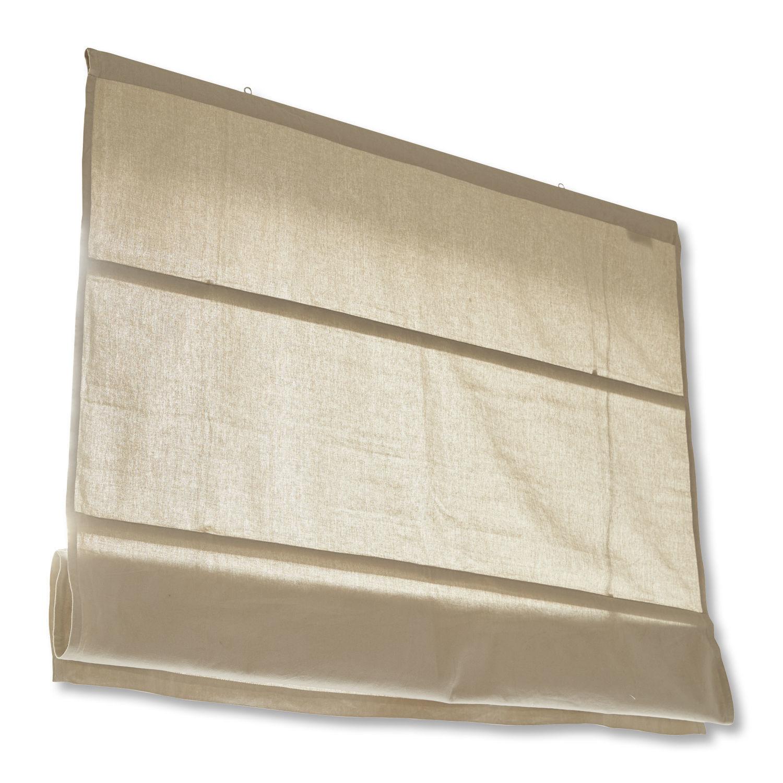 LOBERON Faltrollo Fides, leinen (100 x 120cm)