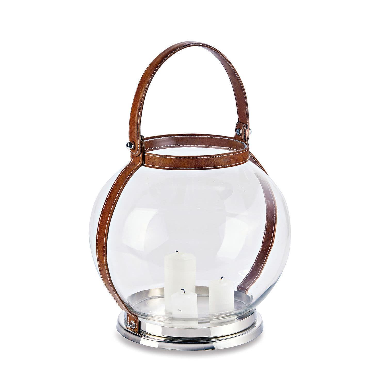 """*NEU*: Laterne """"Cerdon"""" aus Glas und Edelstahl, transparent"""