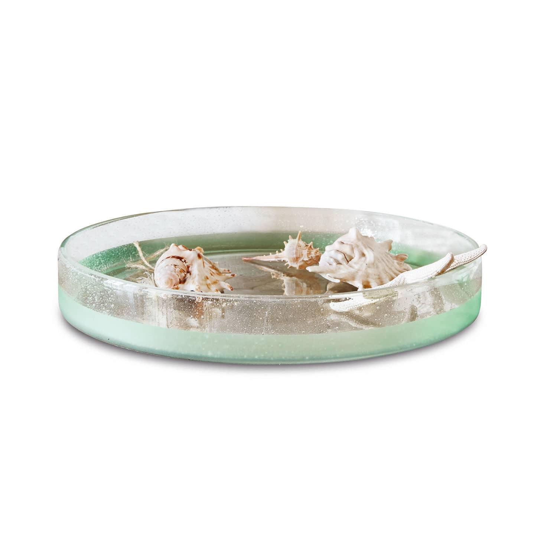 LOBERON Schale Amell, klar/mint (7cm)