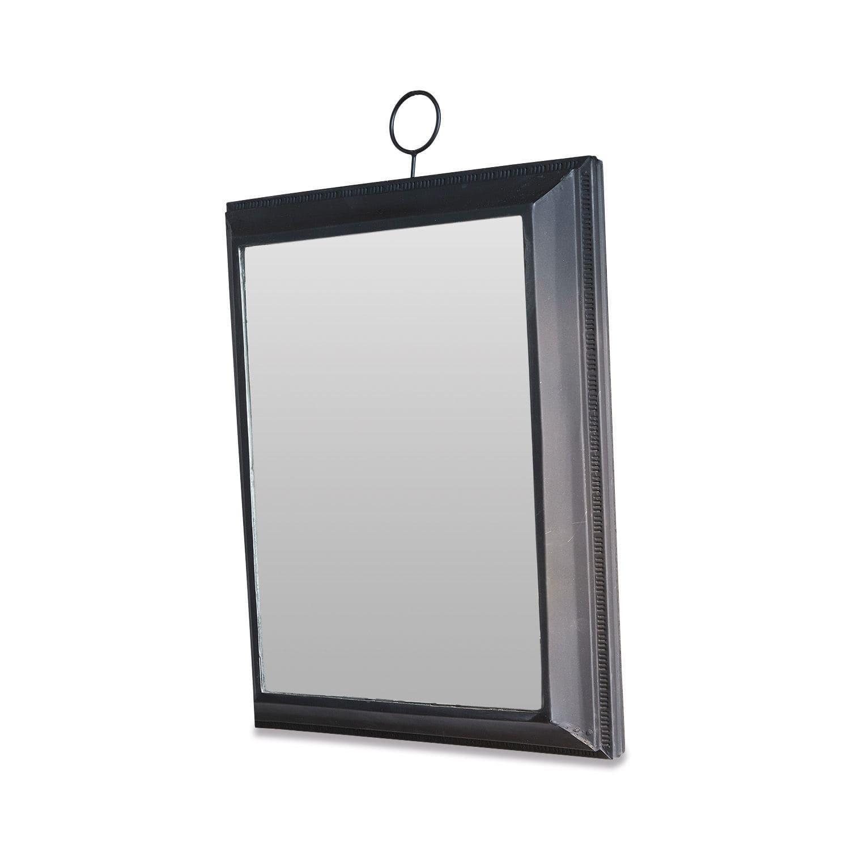 LOBERON Spiegel Novara, schwarz (5 x 28 x 33cm)