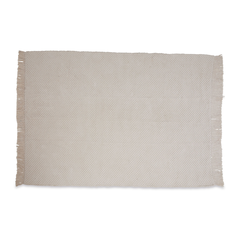 LOBERON Teppich Traver, weiß (170 x 240cm)
