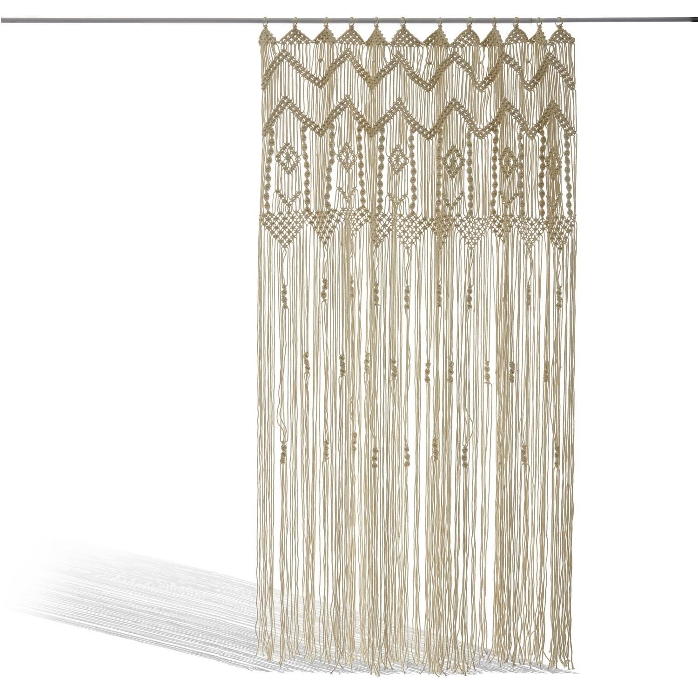 """*NEU*: Outdoor-Vorhang """"Jael"""" aus Baumwolle, beige"""
