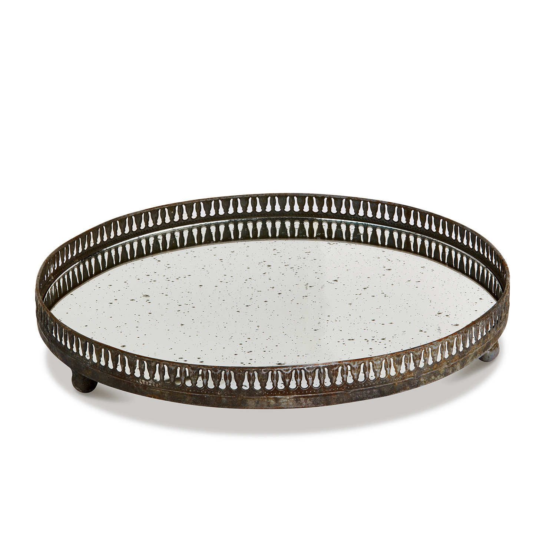 LOBERON Tablett Tano| grau (5cm) | Dekoration > Aufbewahrung und Ordnung | LOBERON