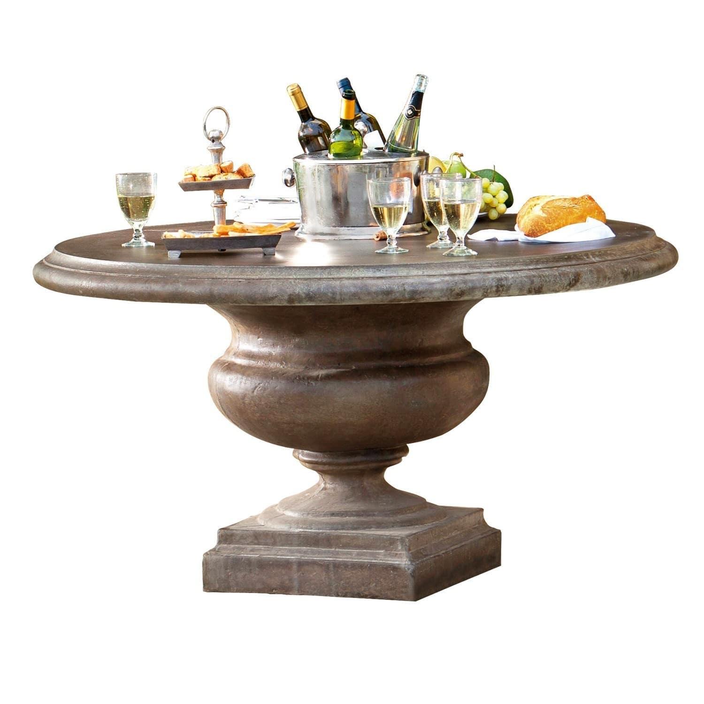 """*NEU*: Gartentisch """"Monterey"""" aus Steingemisch, graubraun"""