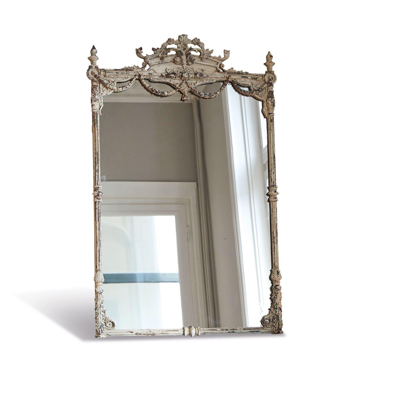 LOBERON Spiegel Klutra, antikweiß (4 x 68 x 110cm)