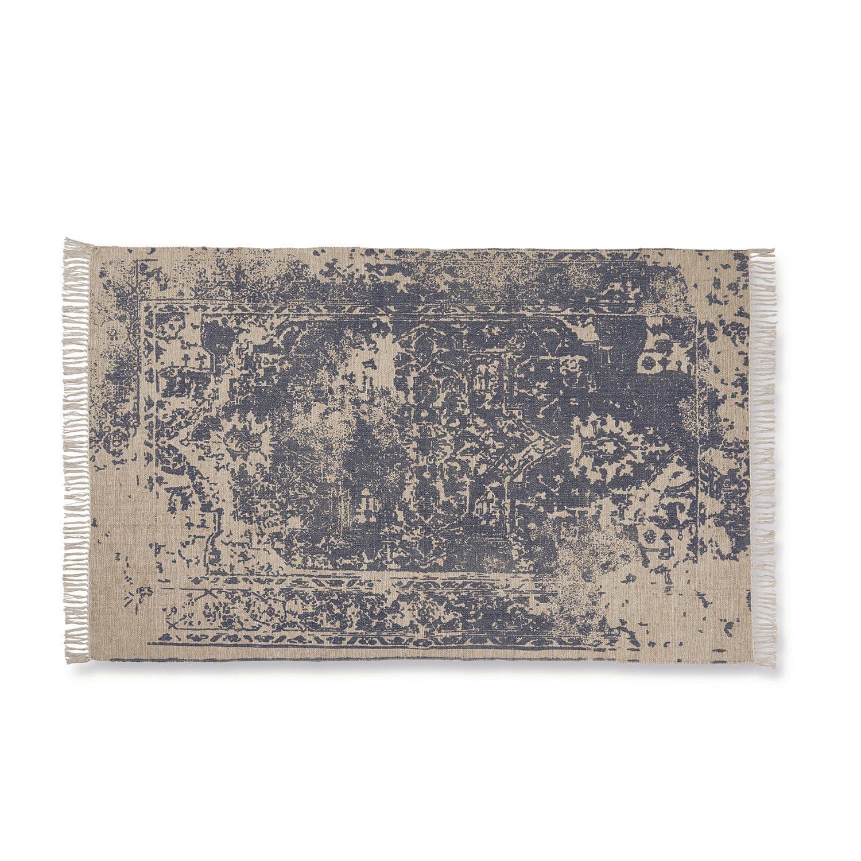 LOBERON Teppich Cisy, grau/beige (230 x 160cm)