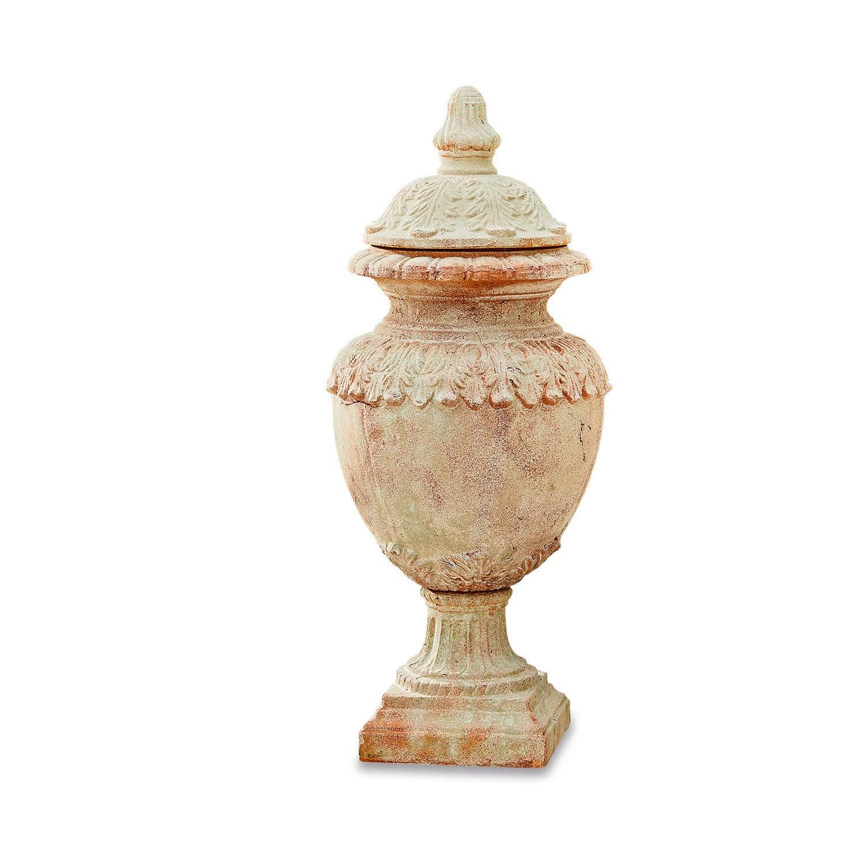 "*NEU*: Gartenamphore ""Persephone"" aus Terracotta, braun"