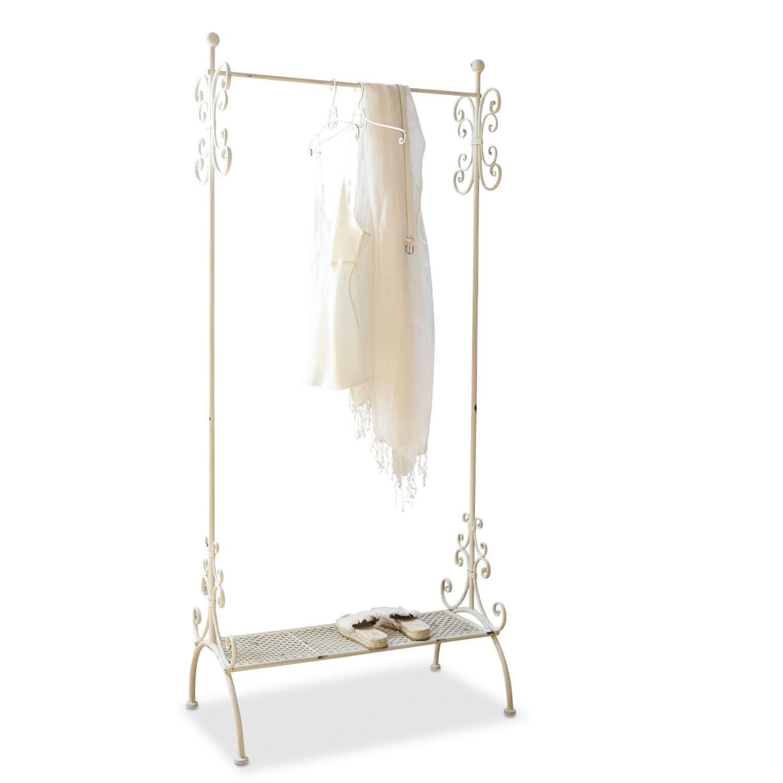 LOBERON Garderobe Épinay, antikweiß (43 x 79 x 179cm)