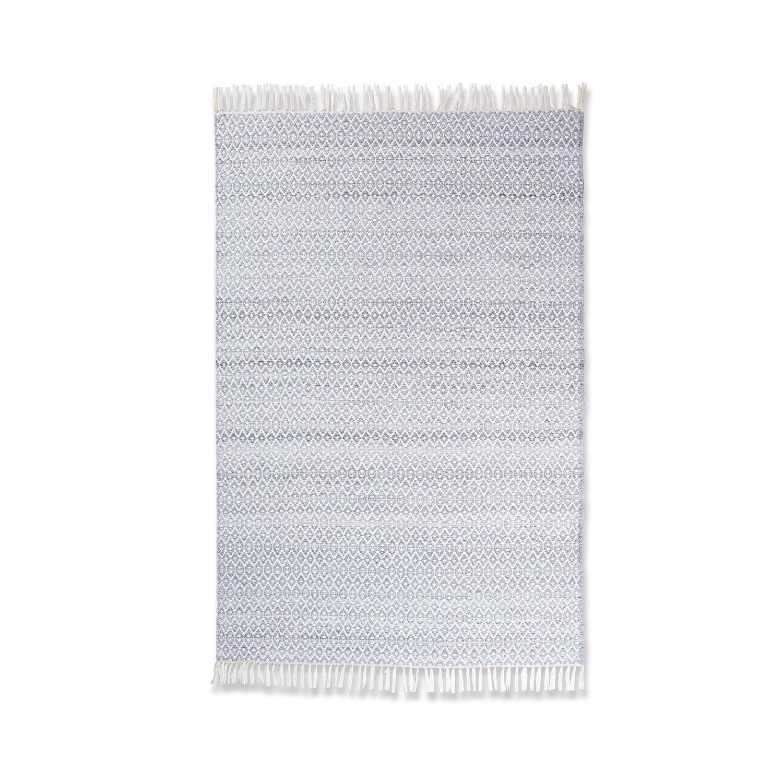 LOBERON In- & Outdoor-Teppich Liglet, creme/grau (120 x 180cm)