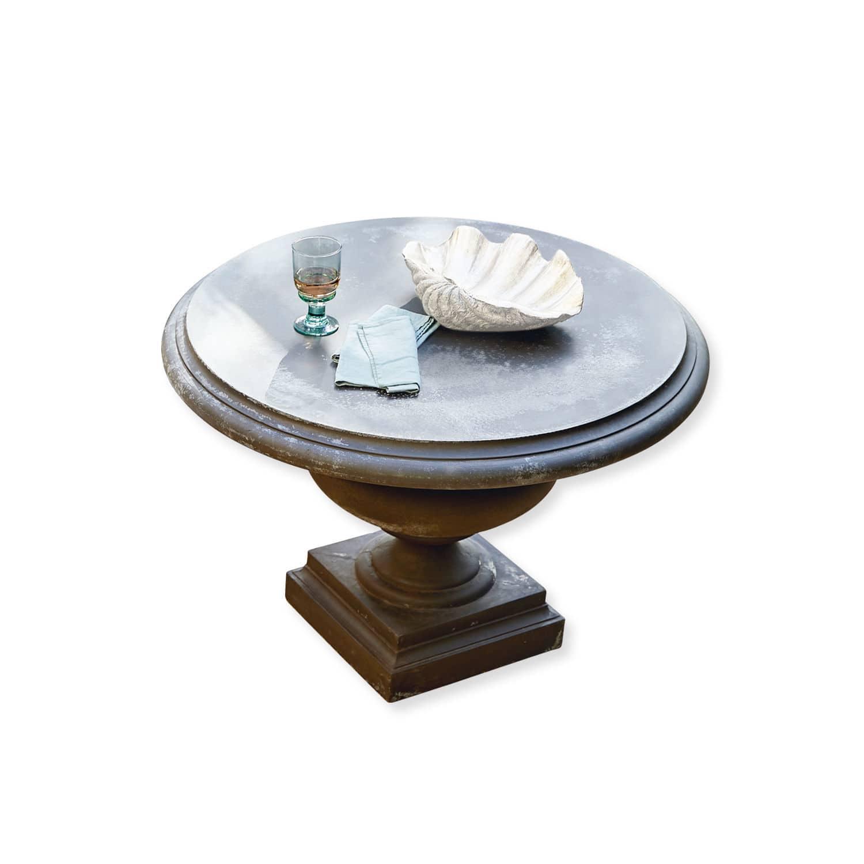 LOBERON Tisch Monterey, graubraun (100 x 100 x 75cm)