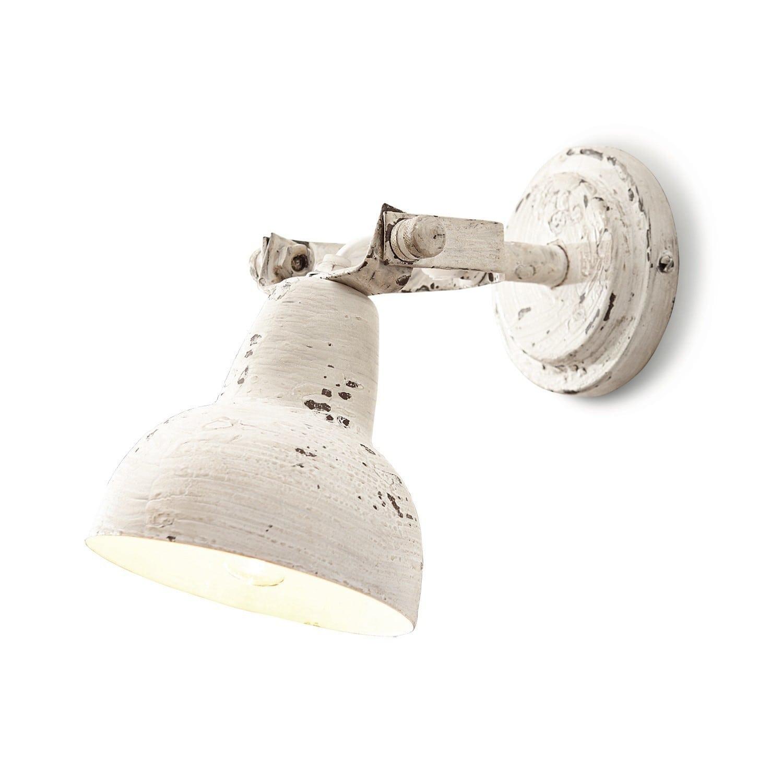 LOBERON Wandlampe Rieke, antikweiß (26 x 12.5 x 23cm)